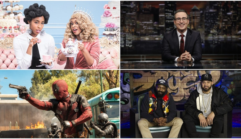 Crave Highlights for February: LAST WEEK TONIGHT WITH JOHN OLIVER, 2 DOPE QUEENS, and O.G. from HBO, SHOWTIME's DESUS & MERO, and Deadpool 2